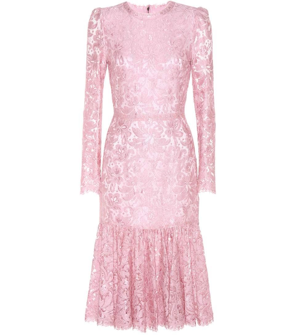 Dolce & Gabbana Silks Lace dress