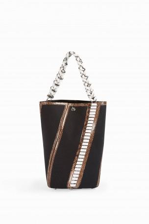 Proenza Schouler Leathers Hex Whip-Stitch Detail Bag