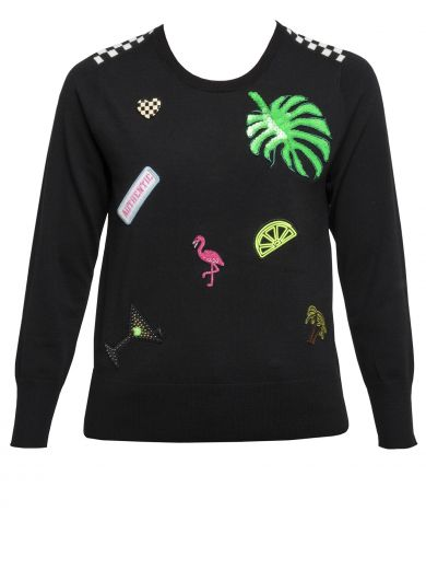 Marc Jacobs Wools Wool Black Sweater