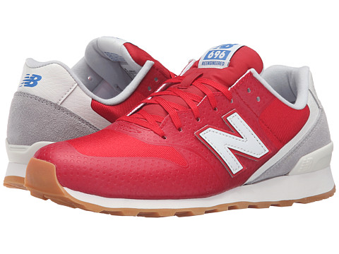 NEW BALANCE W696 in Red/Grey