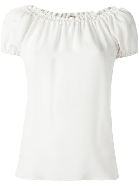 ETRO Pleated Trim Blouse