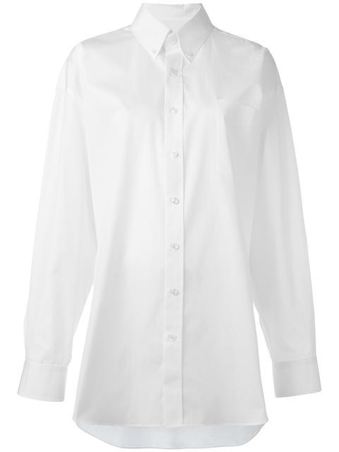 MAISON MARGIELA Oversize Long Sleeve Shirt