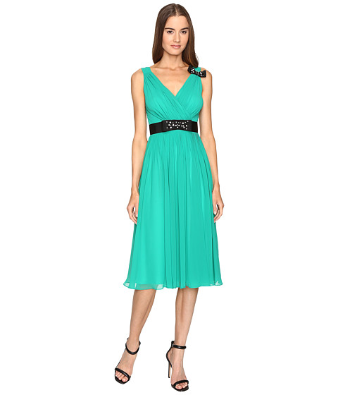 KATE SPADE Embellished Bow Dress in Emerald Ring
