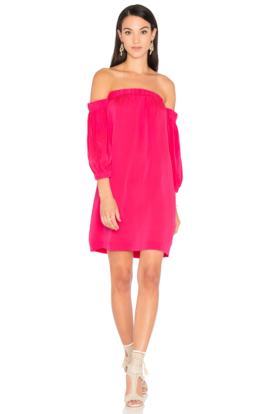 MILLY Off Shoulder Dress