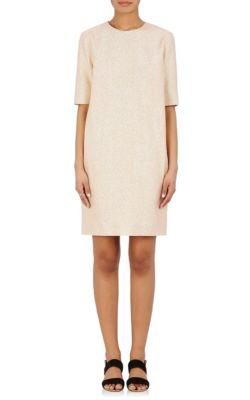 Lanvin Silks Metallic Cocoon Dress