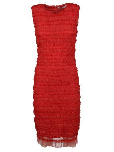 Givenchy Dresses Givenchy Ruffle Embellished Pencil Dress