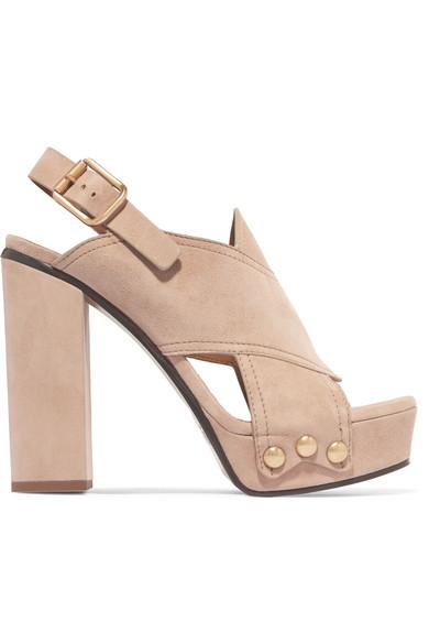 Chloé Suedes Suede platform sandals