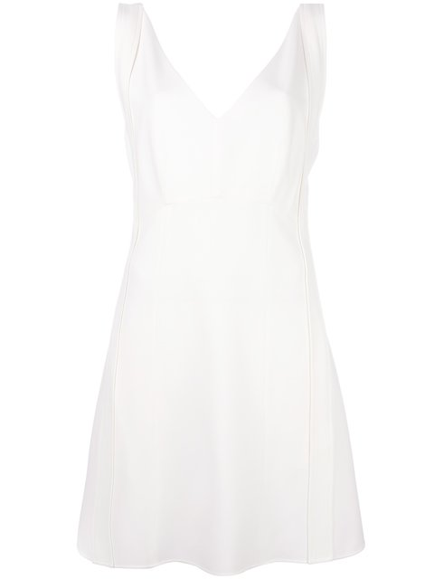 Chloé Silks short sleeveless dress