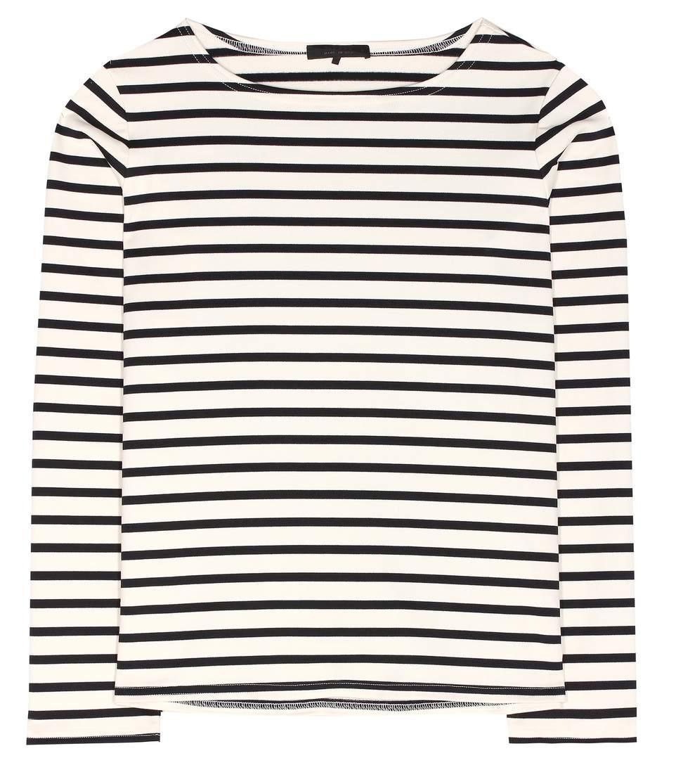 The Row Cottons Moris striped cotton top