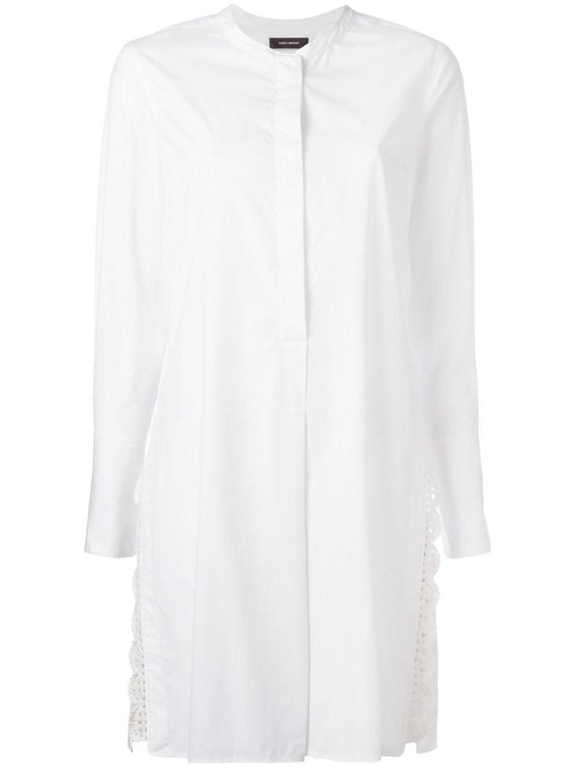 Isabel Marant Cottons 'Minea' white tunic