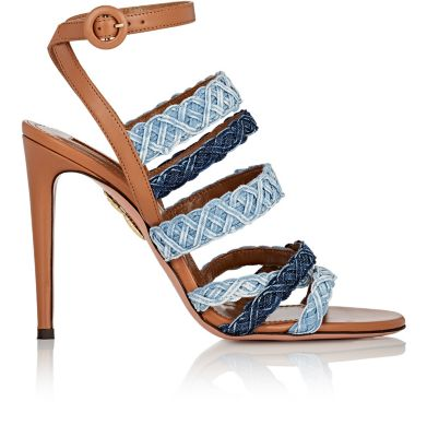 Aquazzura Leathers Tyra Sandals
