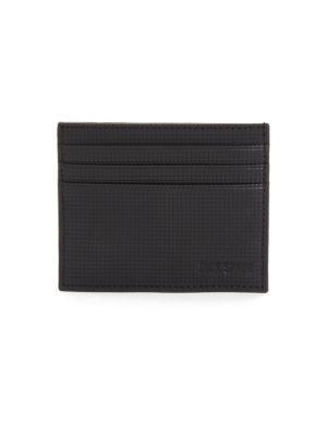 JACK SPADE Varick Leather Card Case