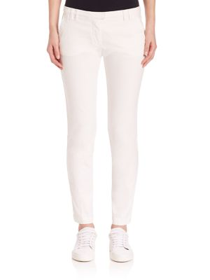 Eleventy Cottons Pantalone Solid Pants