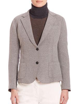Eleventy Wools Main Laser Cut Jacket