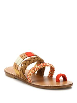 Soludos Leathers Multi Bracelet Sandals