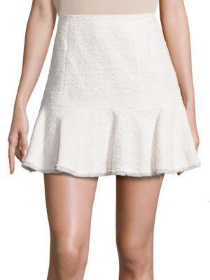 Textured Tweed Skirt