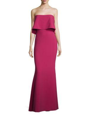DRIGGS STRAPLESS EVENING GOWN