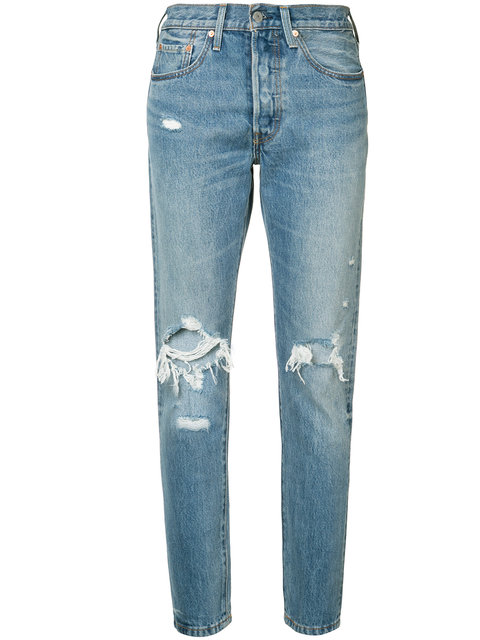 Blue 501 Skinny Jeans