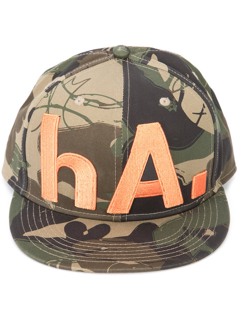 CAMOUFLAGE PRINT HAT