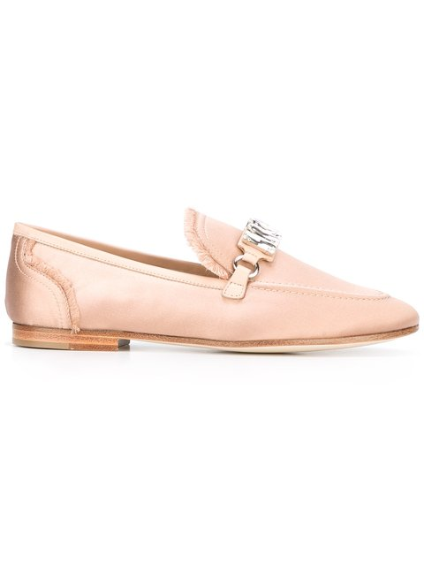 Satin Legacy Loafers