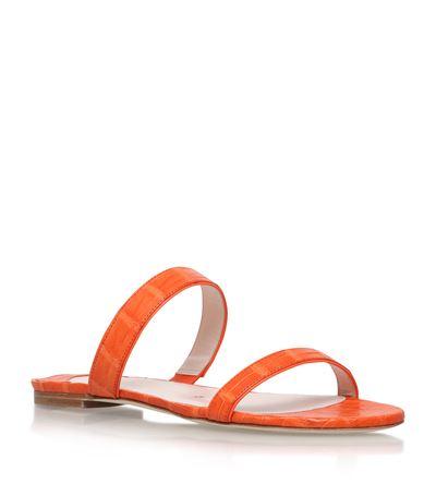 Nancy Gonzalez Frida Crocodile Sandals
