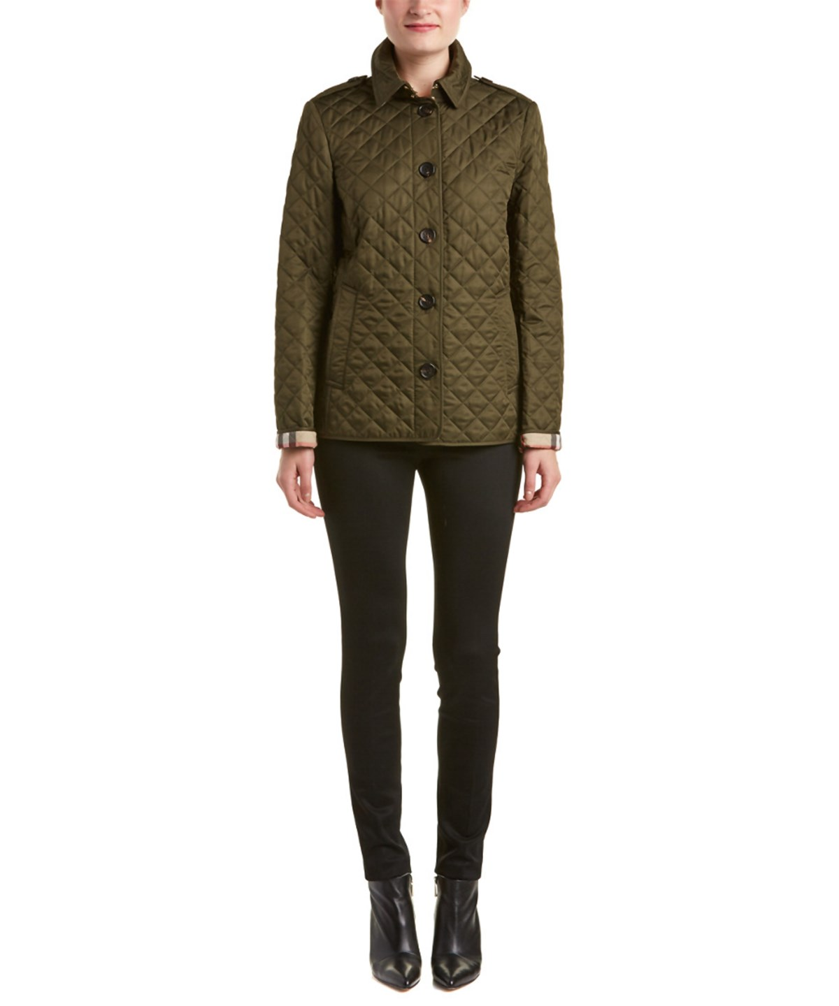 Burberry Cottons BURBERRY ASHURST DIAMOND QUILTED JACKET'