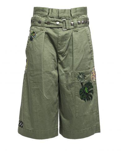 Marc Jacobs Militarys Green Cotton Pants