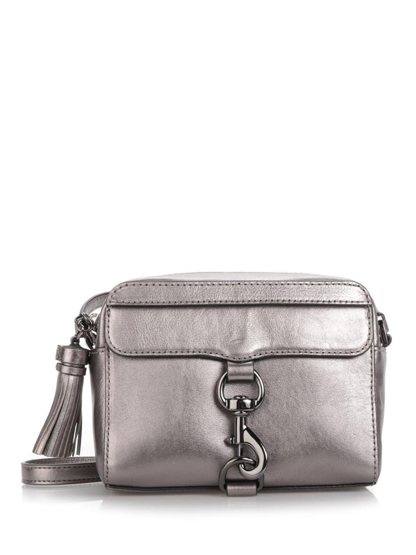 'M.A.B' mirror leather camera bag