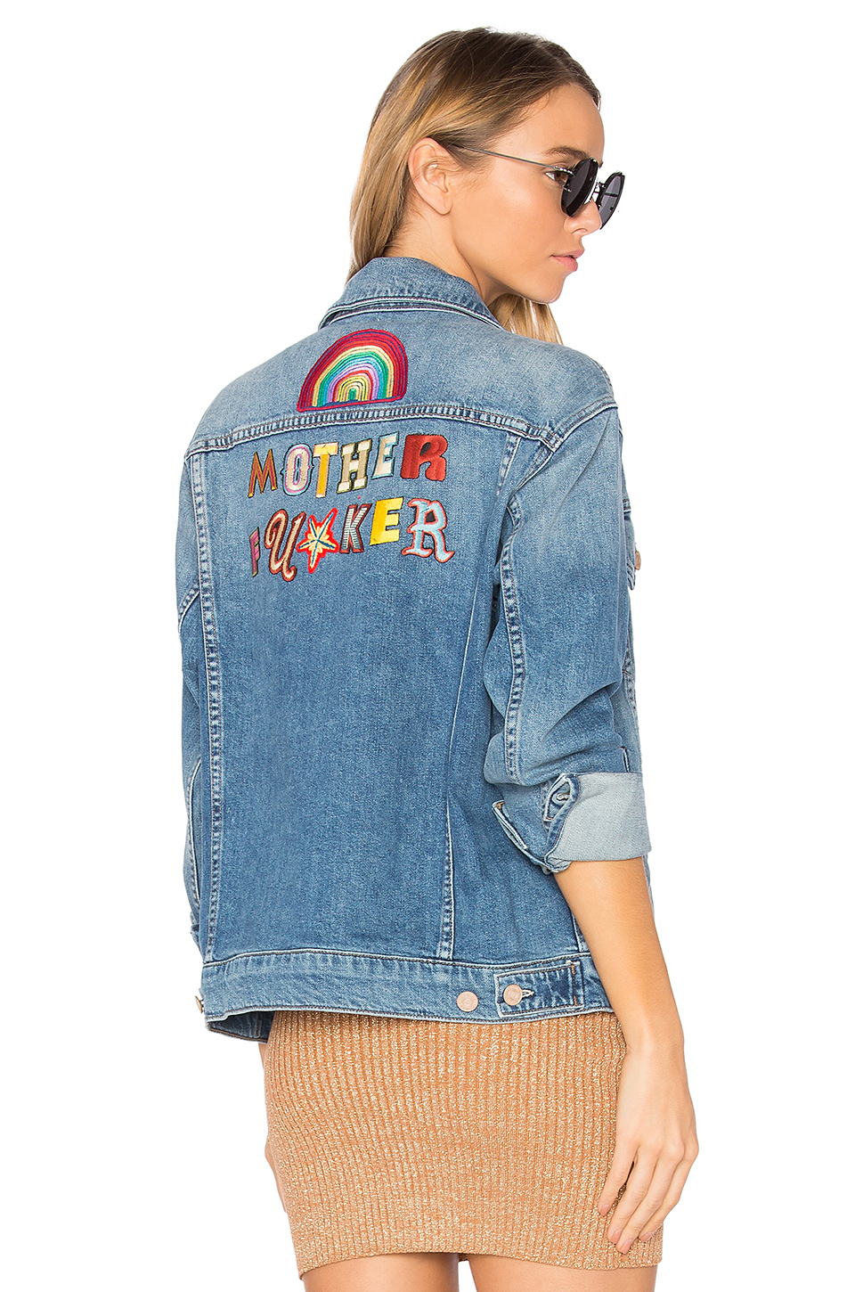 THE DRIFTER EMBROIDERED DENIM JACKET