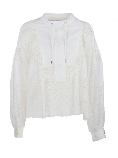 DOT LACE SHIRT