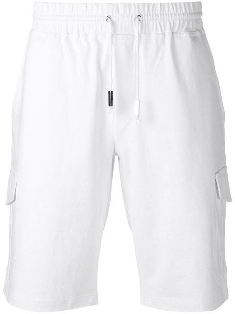 Eleventy Cottons cargo pocket track shorts