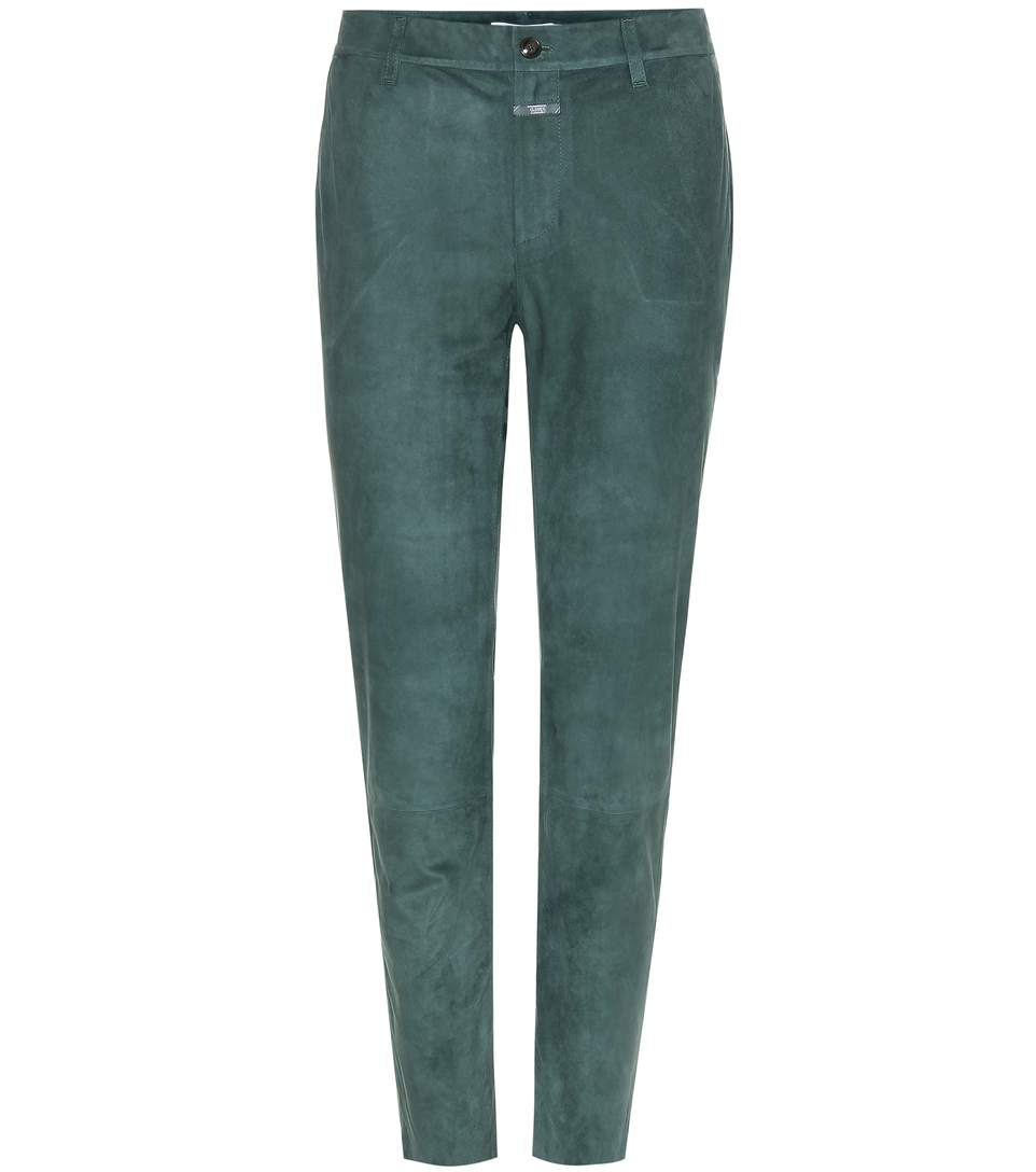 JACK SUEDE TROUSERS