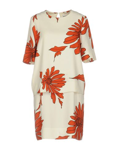 ESSENTIEL ANTWERP SHORT DRESS, IVORY