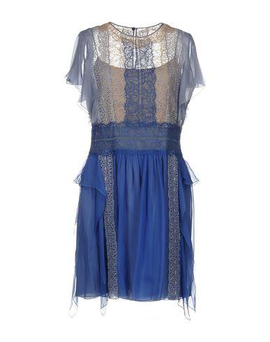 ALBERTA FERRETTI SHORT DRESS, ORANGE