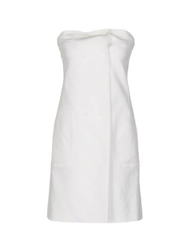Jil Sander Short Dress, White
