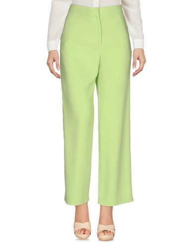 ERMANNO SCERVINO CASUAL PANTS, YELLOW