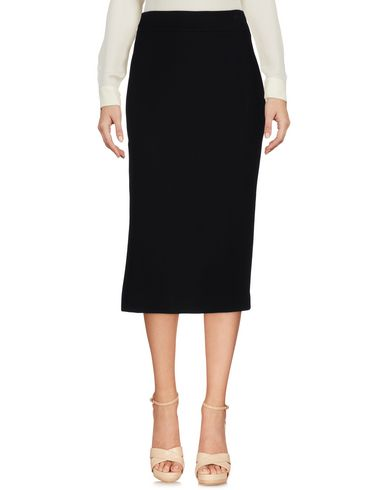 Msgm 3/4 Length Skirt, Black