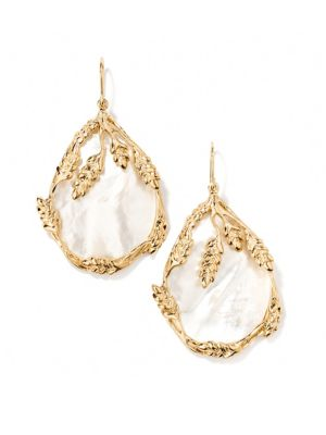 Françoise Mother-Of-Pearl Drop Earrings