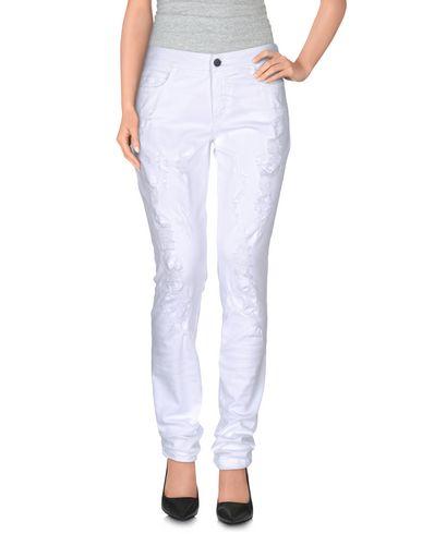 GIAMBA CASUAL PANTS, WHITE