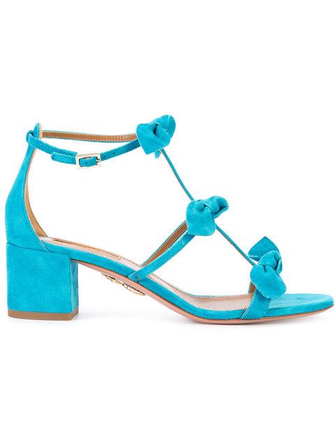 Blue Saint Tropez Bow Sandal
