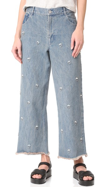 Ghost Embellished Jeans