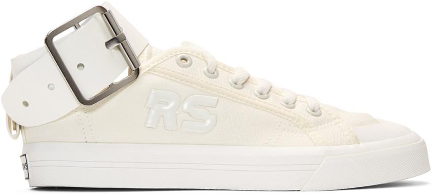 Raf Simons Off-White adidas Originals Edition Spirit Buckle Sneakers