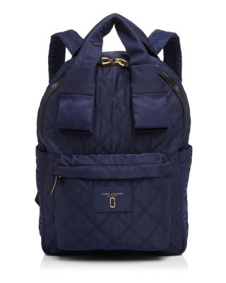 Knot Large Quilted Nylon Backpack