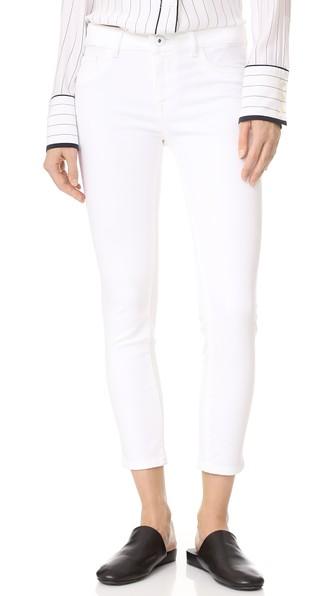 Dl1961 1961 Florence Cropped Skinny Jeans, Porcelain
