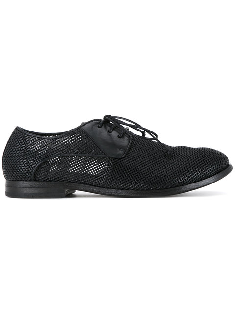 MarsÈLl Perforated Derby Shoes - Black