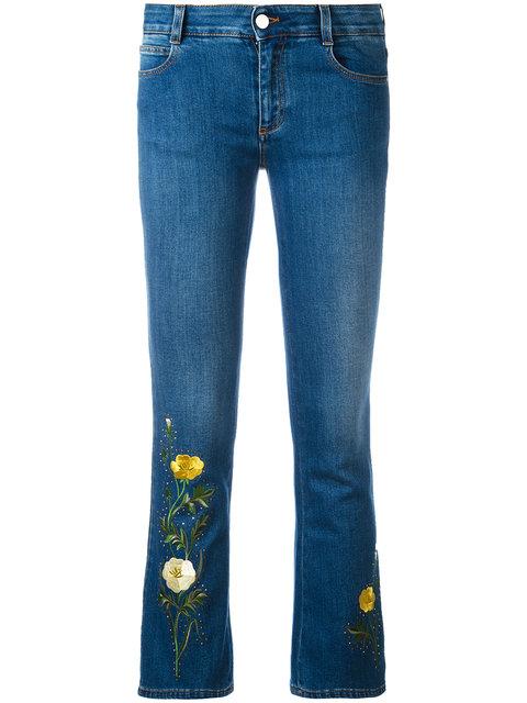 Stella Mccartney Denims Stella McCartney Nashville Skinny Kick Jeans - Farfetch