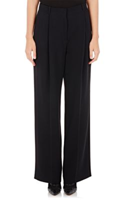 Givenchy Pants Cady Wide-Leg Trousers