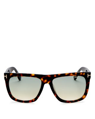 TOM FORD Oversized Square Sunglasses, 55Mm
