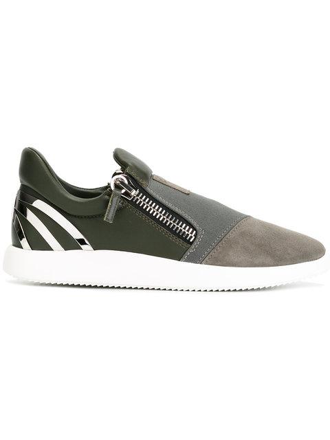 GIUSEPPE ZANOTTI Design Runner Sneakers - Green
