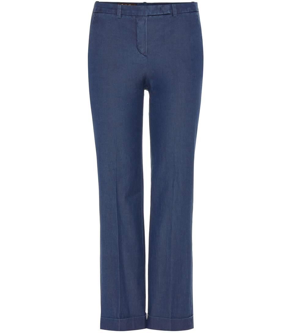 Hayden cotton trousers